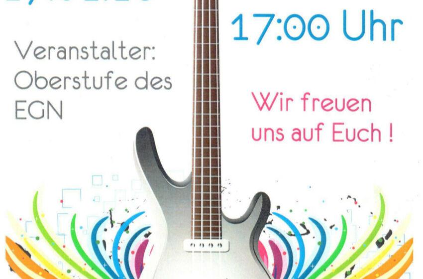 Konzert EGN- Plakat