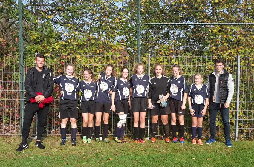 Jugend trainiert für Olympia Fussball Mädchen