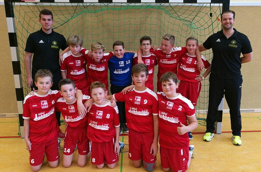 Jugend trainiert für Olmpia Handball Jungen