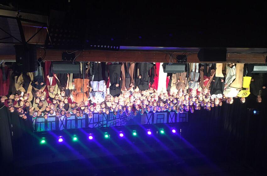 Aufführung Luther macht Schule