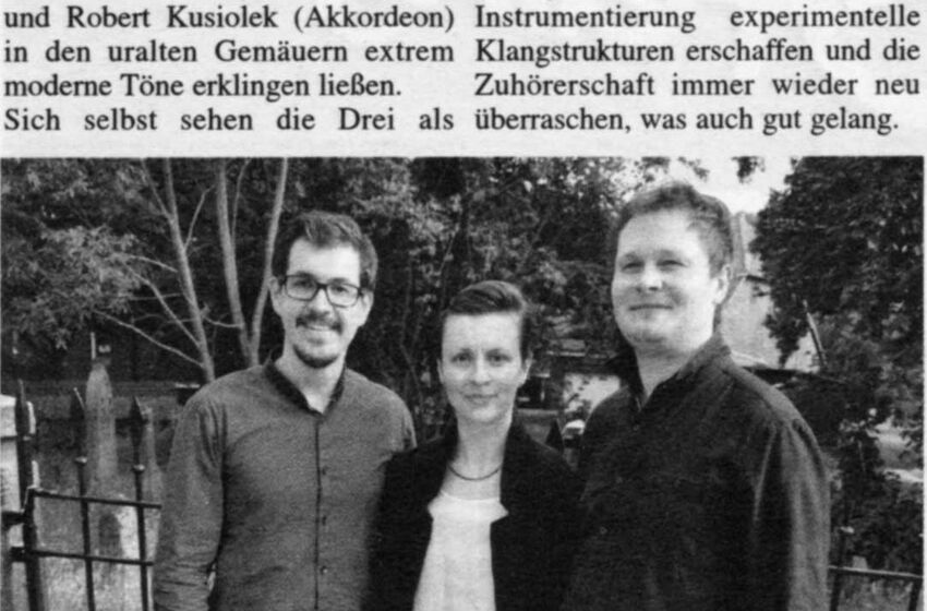 Konzert Kusiolek Juni 2016