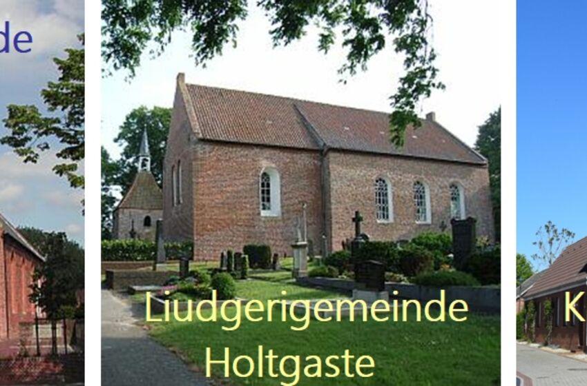 Evangelisch-lutherisch Rheiderland Leer-Bingum, Jemgum-Holtgaste, Jemgum-Pogum, Ostfriesland, Kirche