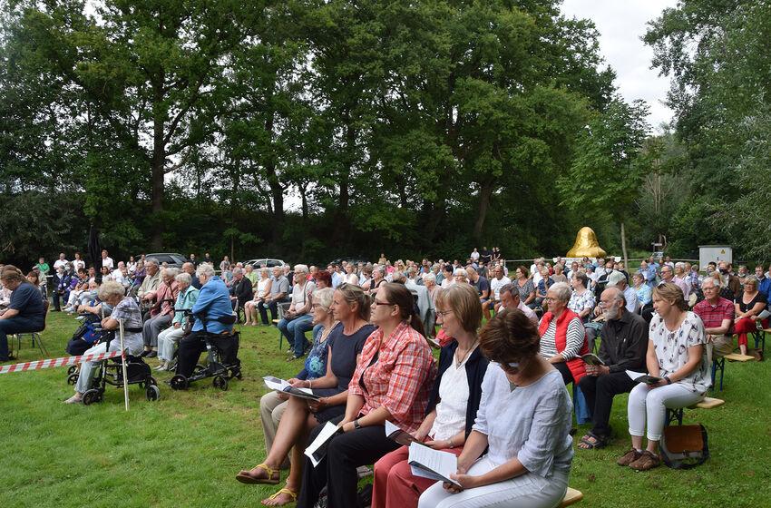 Rund 250 Gottesdienstbesucher kamen zur Verabschiedung