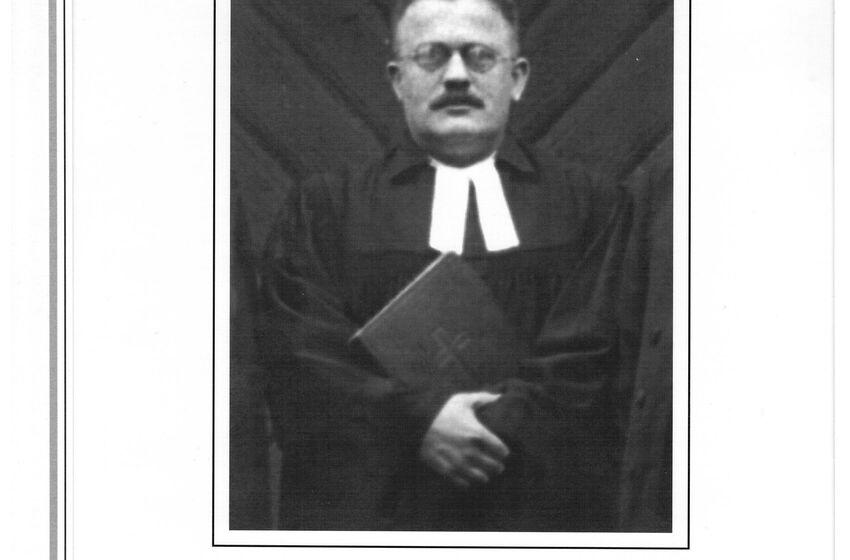 Schulz, Adolf Pastor