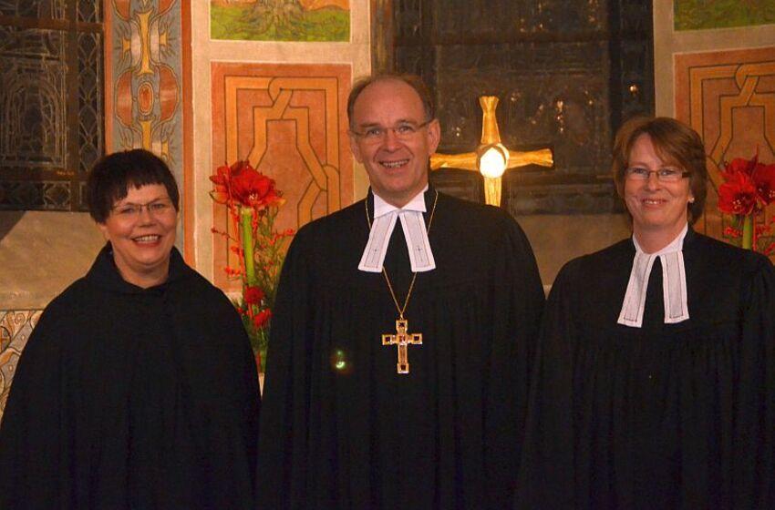 Besuch Landesbischof