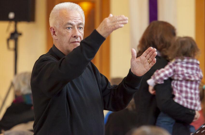 Gerd Kruse dirigiert