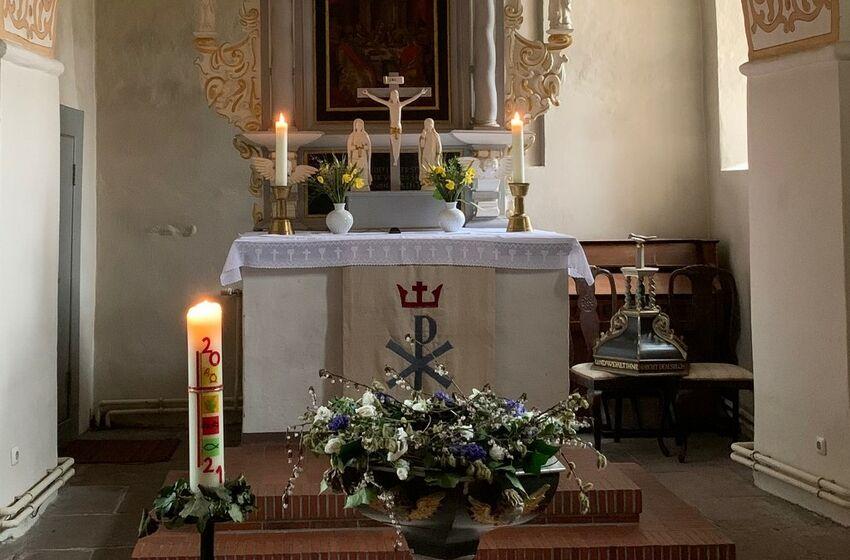 Altar Ostern 2021