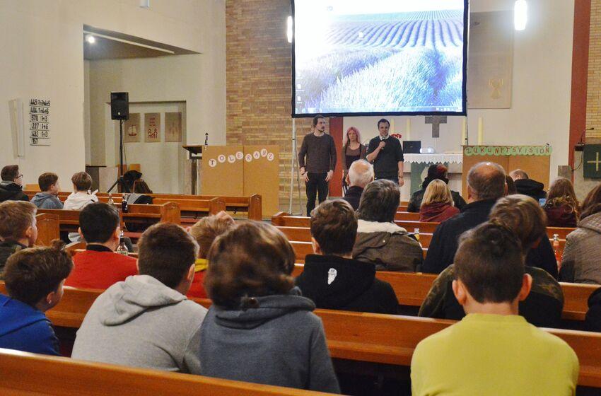 In der Pauluskirche wurde zum Themenabend Toleranz eingeladen
