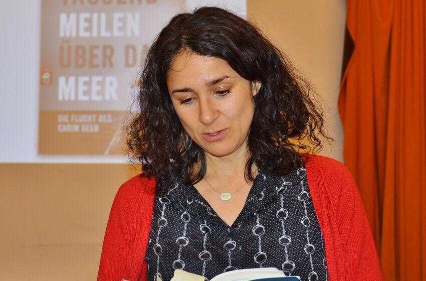 Annabel Wahba las im Pädagogium aus ihrem Buch