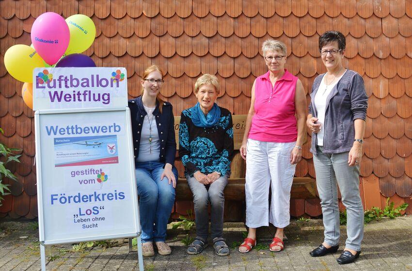 Anna von Wensiersky, Heidelore Nolte, Birgitt Dunkel und Ingrid Baum