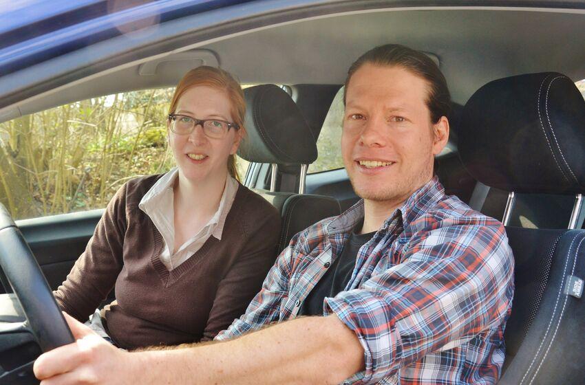 Anna von Wensiersky und Christoph Isermann stellten das Angebot der Fachstelle vor