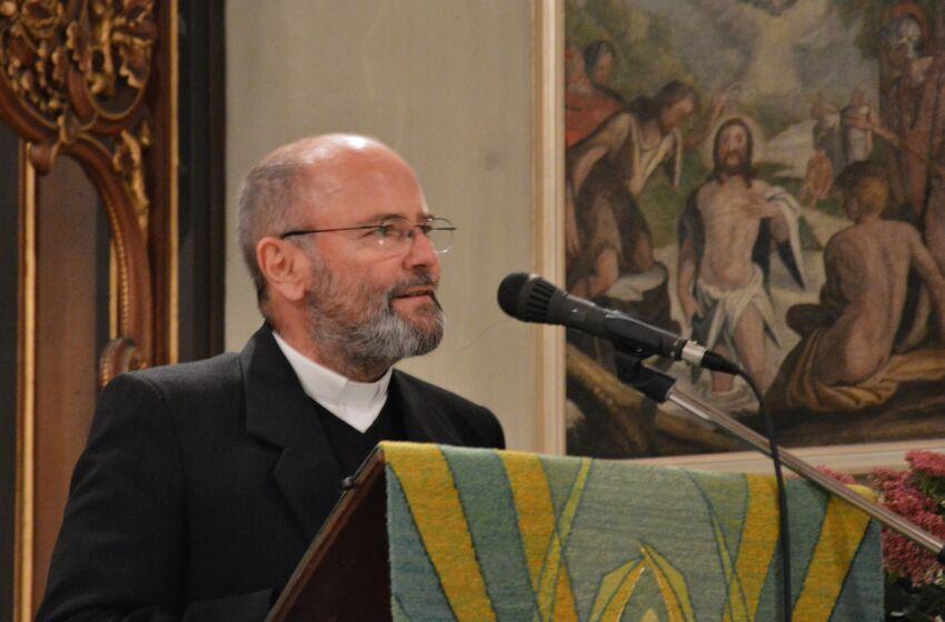 Pfarrer Gerhard Wagner war aus Alba Julia angereist