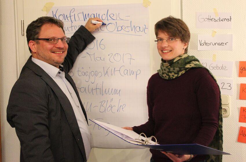 Pastorin Köhler Pastor Dittmann KU Oberharz