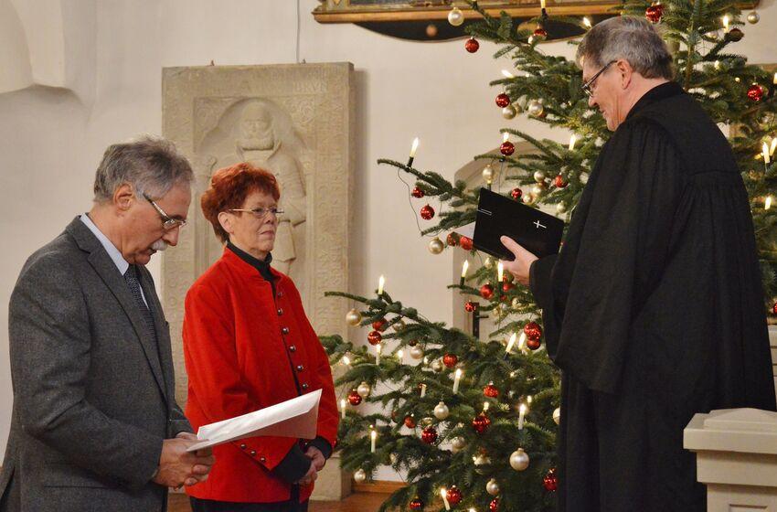 Hannelore Fröchtenicht und Karlheinz Breuer wurden vo