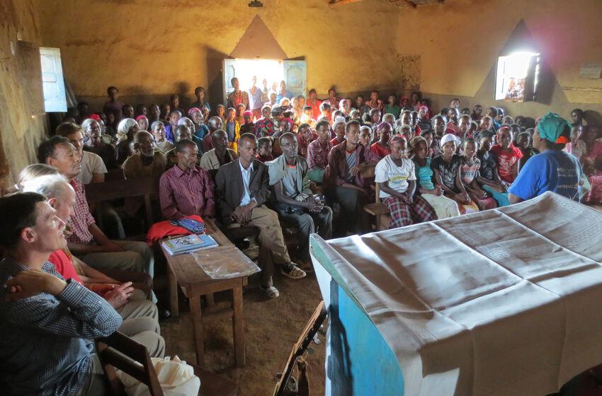 Gottesdienst in Äthiopien