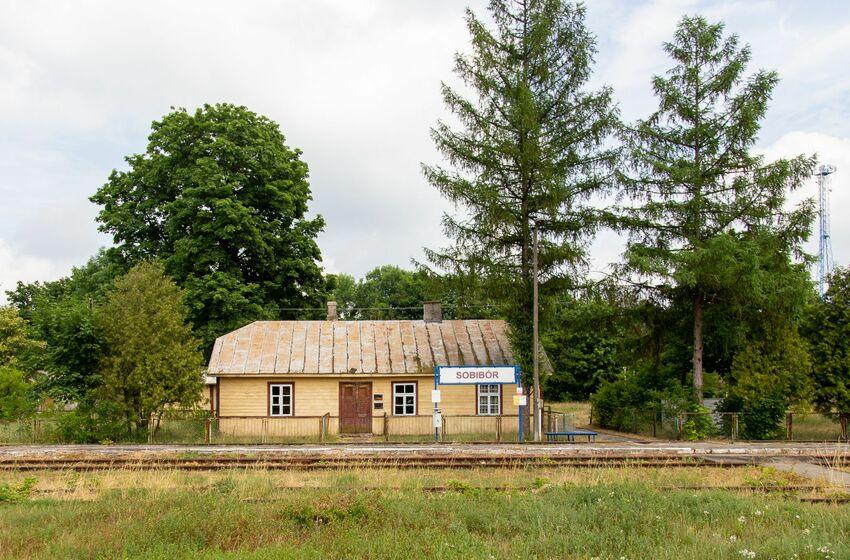 Das ehemalige deutsche Vernichtungslager im polnischen Dorf Sobibor.