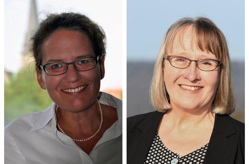 Henrike Schwerdtfeger und Christiane Nadjé-Wirth werden die ersten Frauen im Konvent des Klosters Amelungsborn.