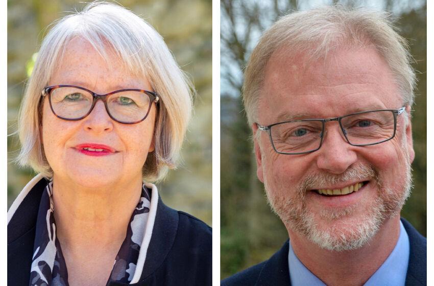 Die Superintendenten Katharina Henking (Alfeld) und Thomas Henning (Münden) leiten in der Vakanz-Zeit den Sprengel Hildesheim-Göttingen.