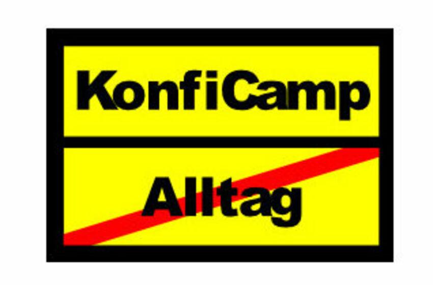KonfiCampSchild
