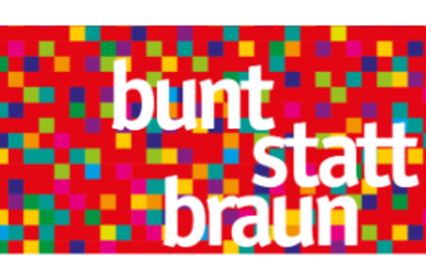 Bunt Statt Braun