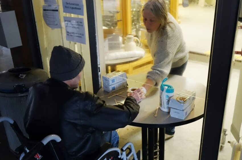 Spendenaktion Obdachlose