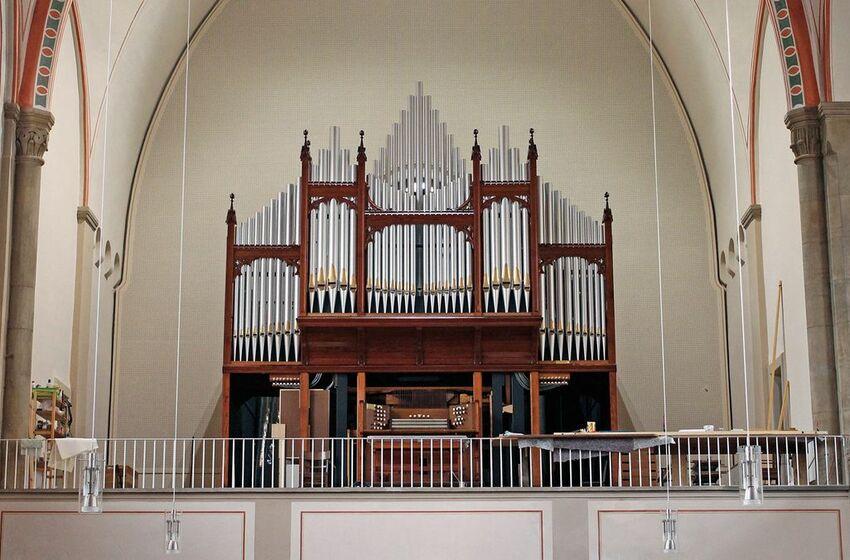 Englische Orgel