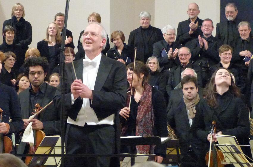 Kirchenmusikdirektor Lothar Mohn