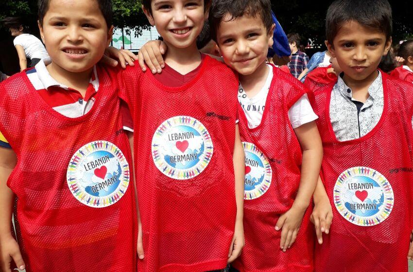 Geflüchtete Kinder im Libanon
