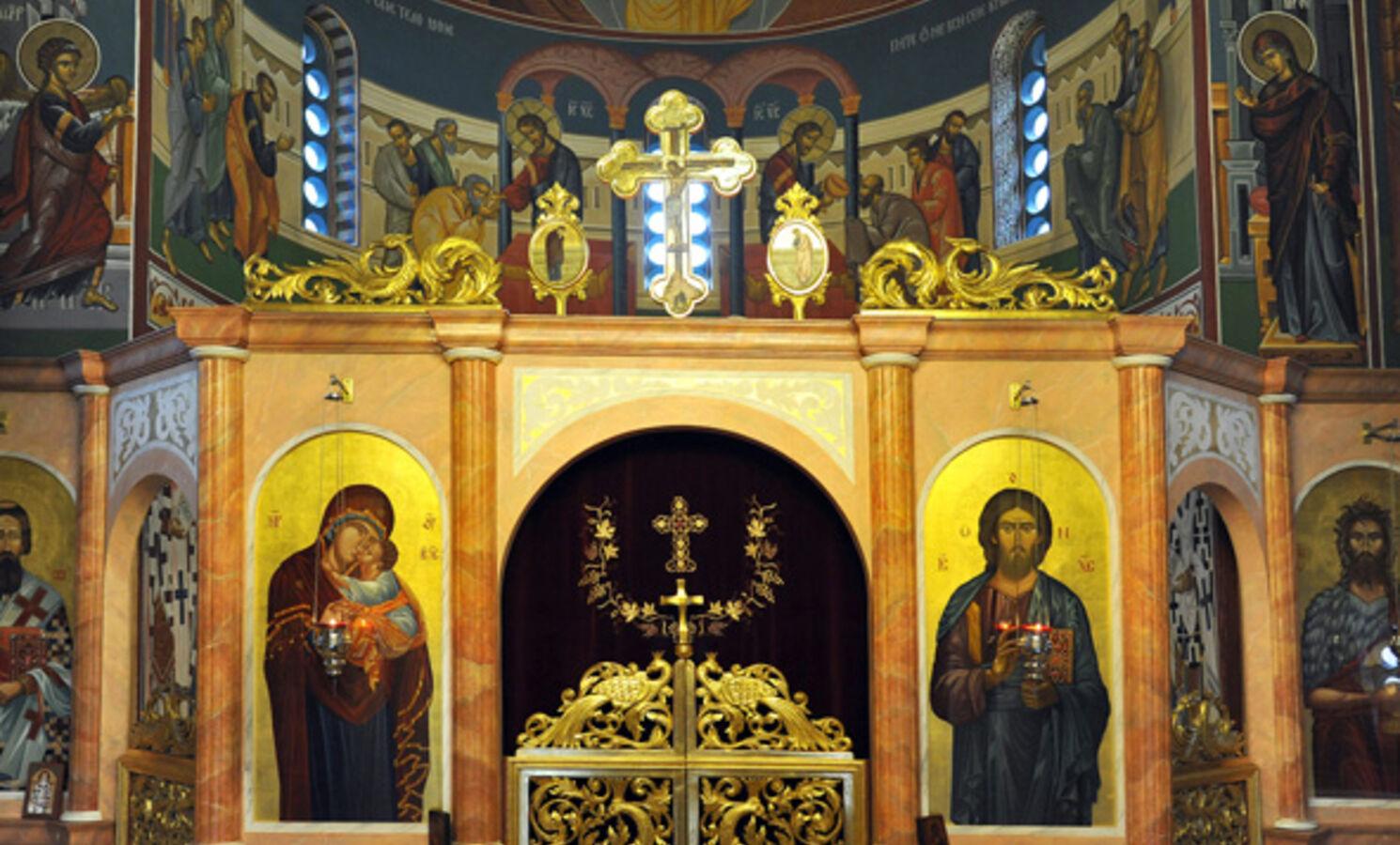 """Serbische Orthodoxe Kirche """"Heiliger Sava"""" in Hannover"""