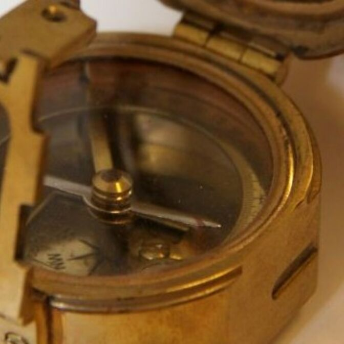kompass-ausschnitt