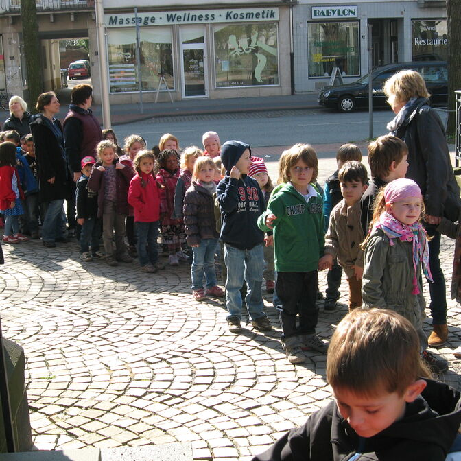 Kindergarten unterwegs