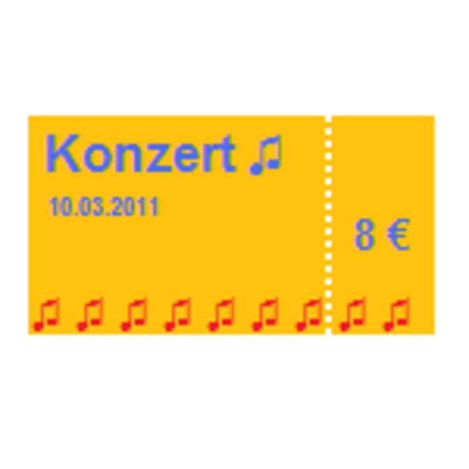 Konzert - Symbol