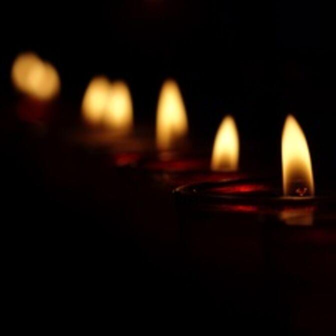 Lichter des Gedenkens