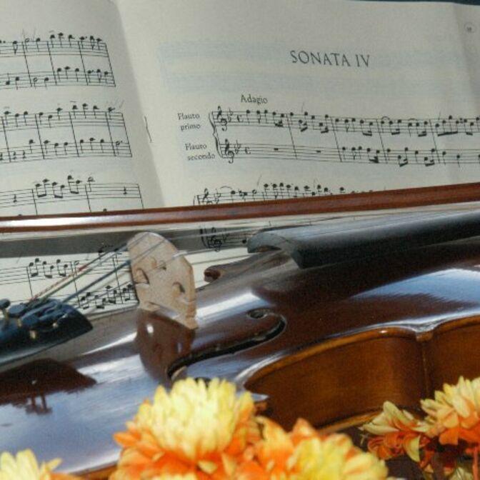 Geige Sonata VI