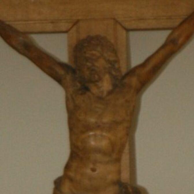 Kruzifix-Auschnitt