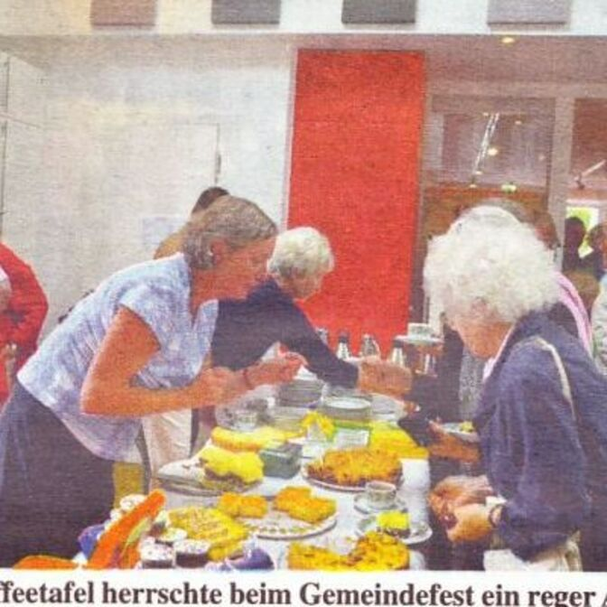 Gemeindefest