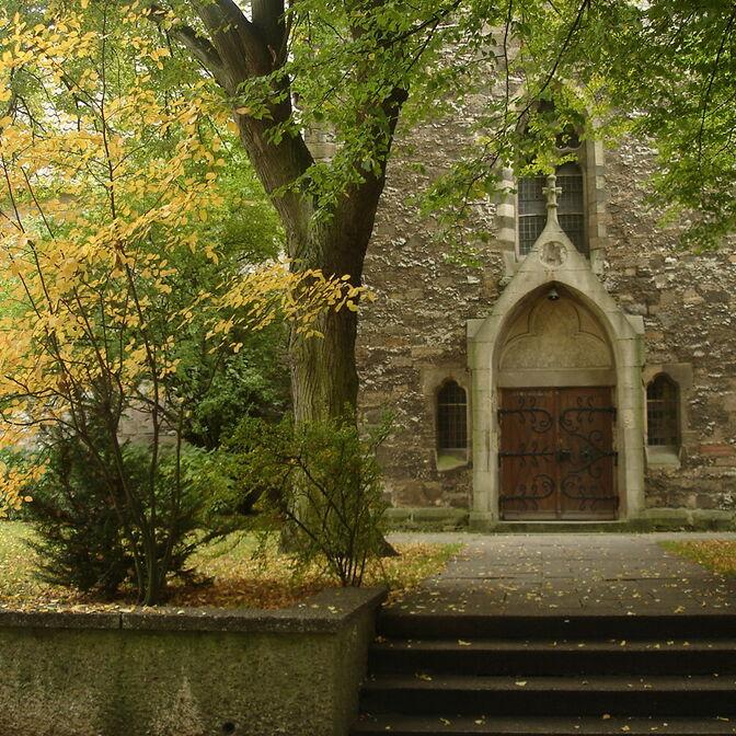 Kirche Eingang