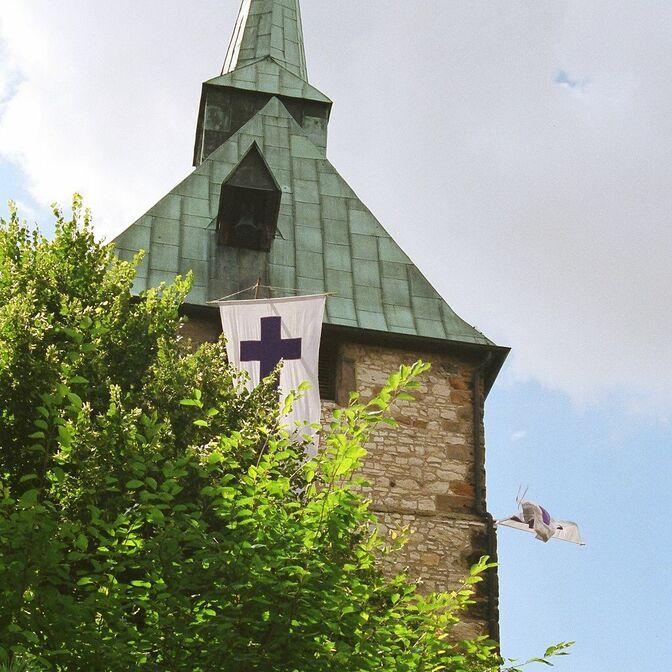 Kirchturm Stiftungsfest