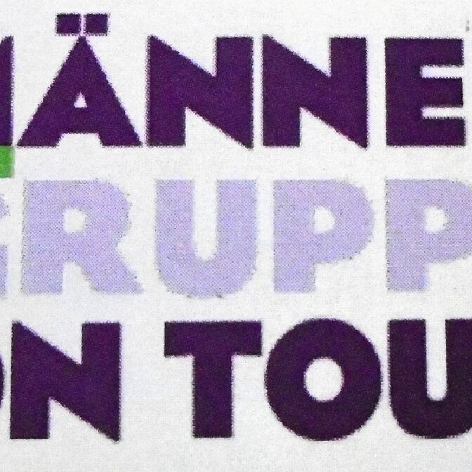 Maennergruppe on TOur logo neu