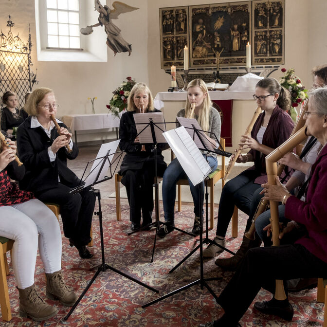 Flötengruppe-Teaser