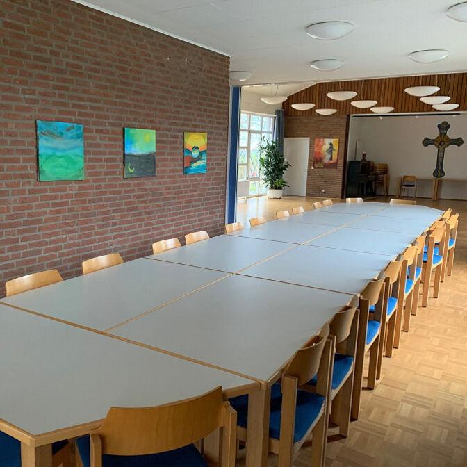 Gemeindehaus innen