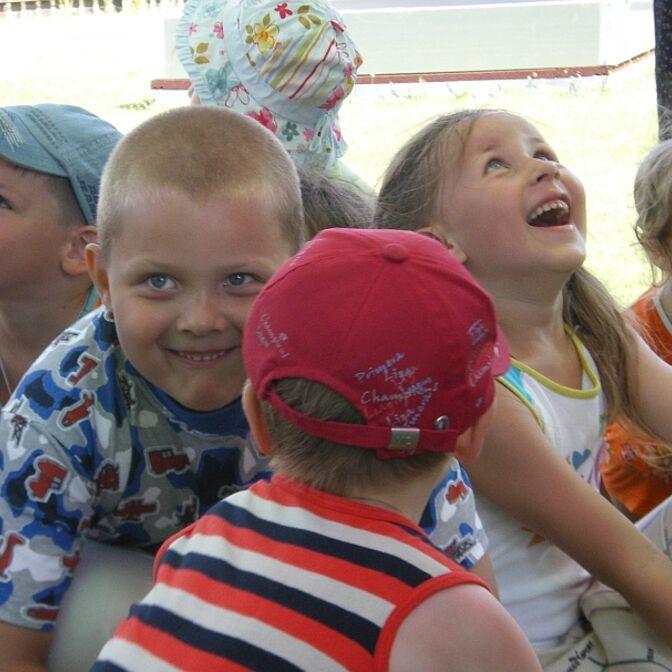 Kinder aus Weißrussland zu Gast