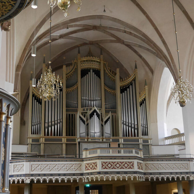 Orgel Kirche Wittenberg