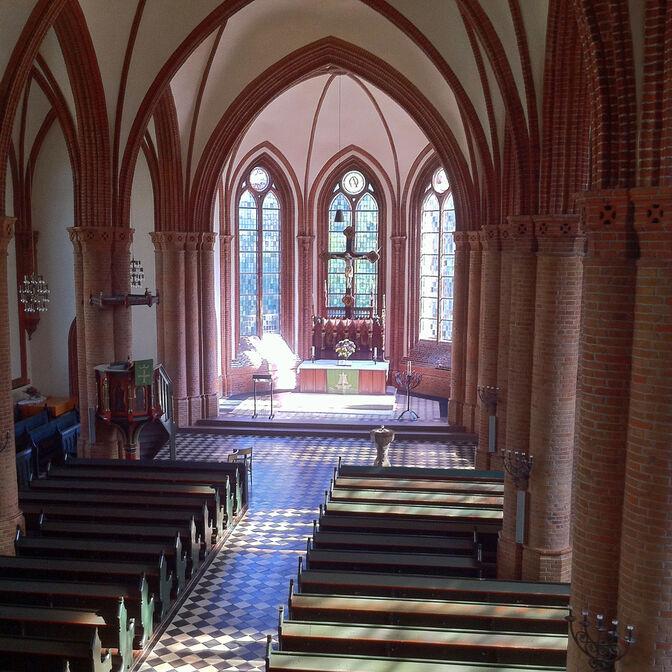 Kirchenschiff klein