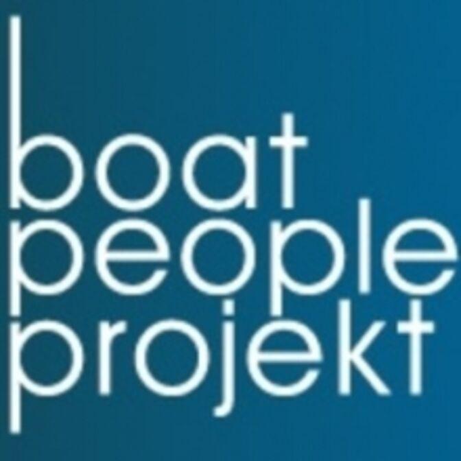 Logo boat people projekt