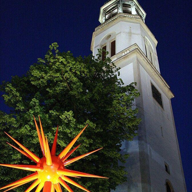 Postkarte Turm beleuchtet-1