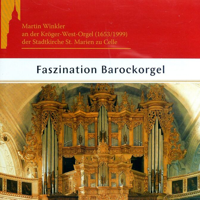 CD-Cover Faszination Barockorgel