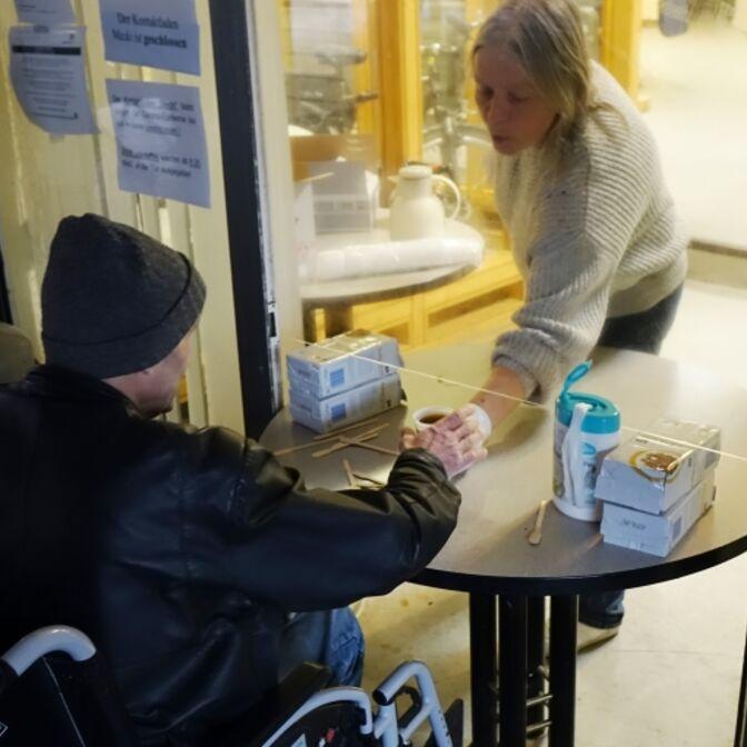 Spendenaktion Obdachlose