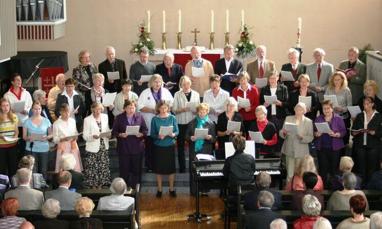 Chor im Gottesdienst