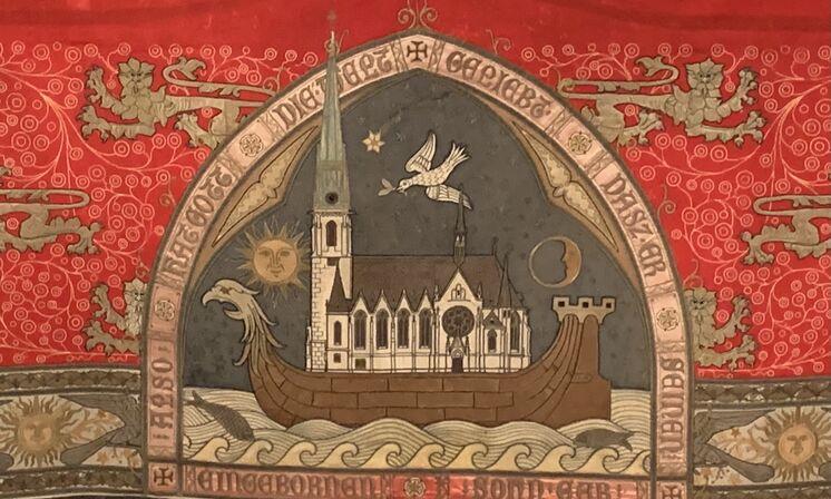 Rotes Parament Reformationstag